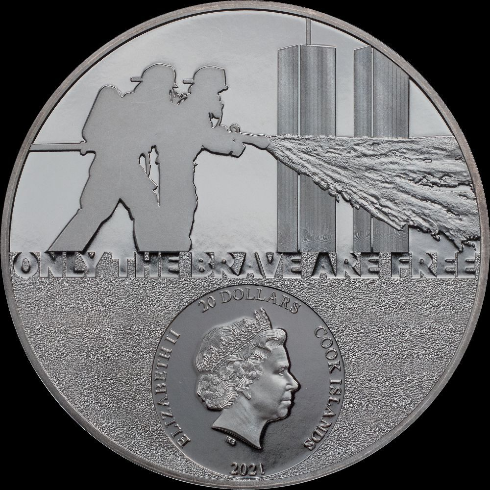 firefighter coin real heroes series