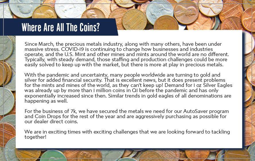 7k metals market update