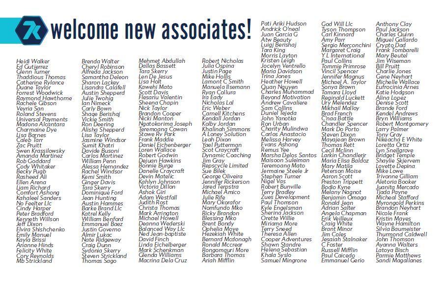 7k metals new associates