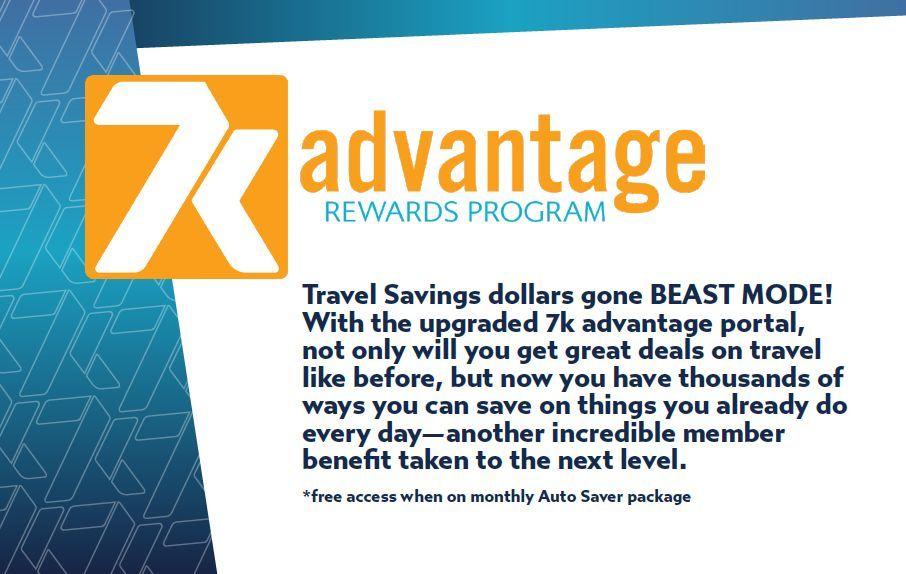 7k advantage rewards program