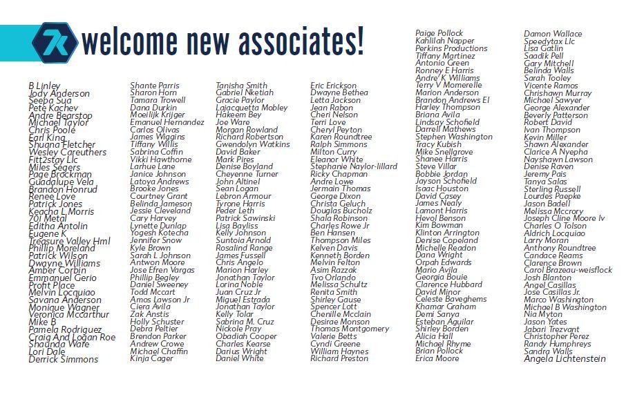 new 7k metals associates