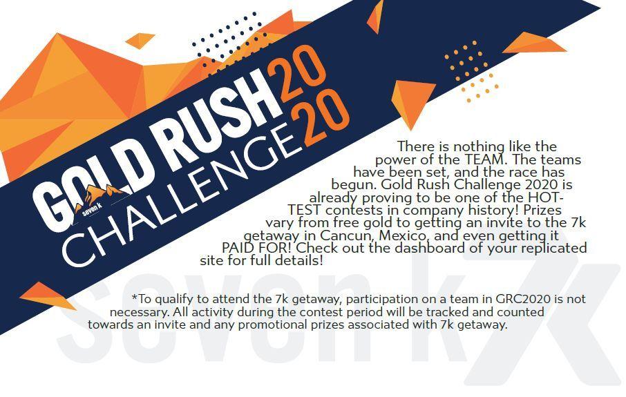 7k metals gold rush challenge 2020