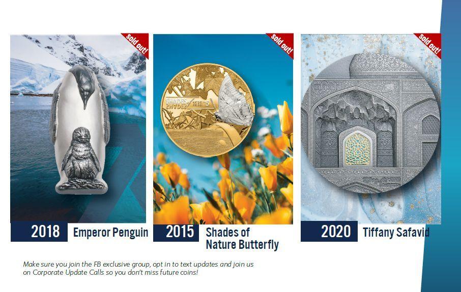 recently sold 7k metals coins