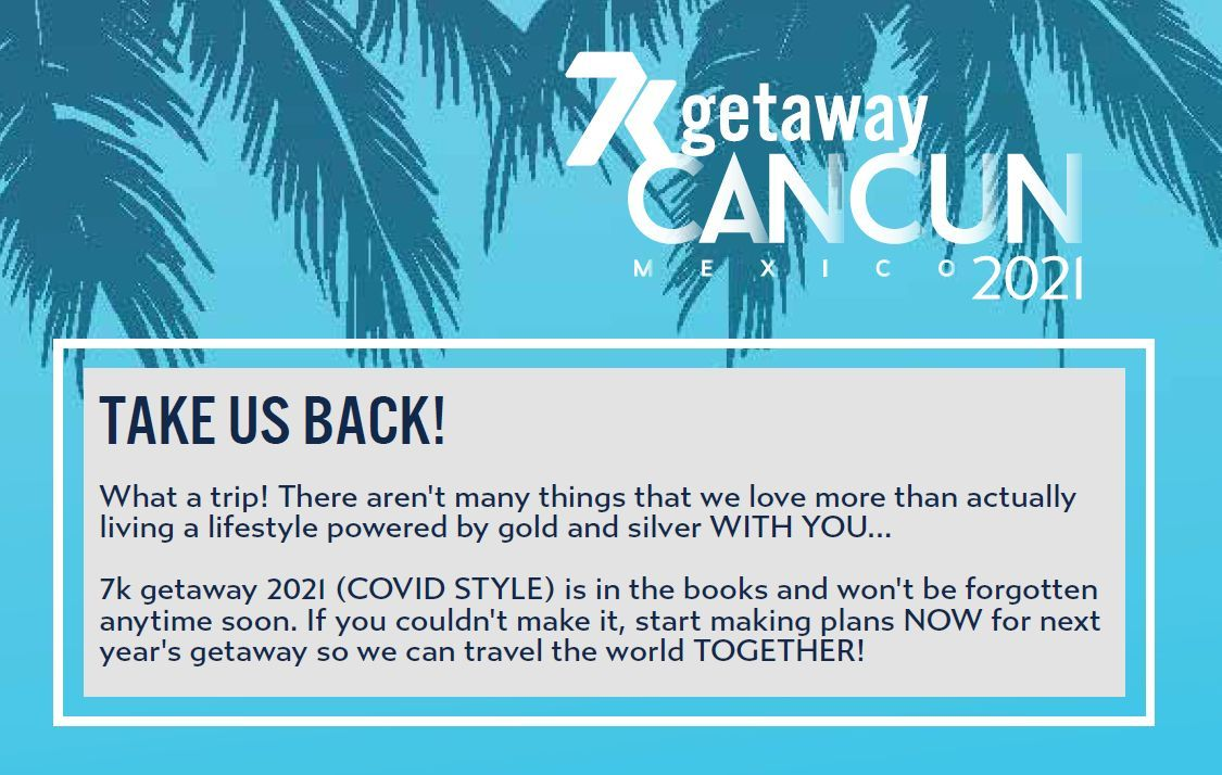 7k getaway cancun 2021 recap