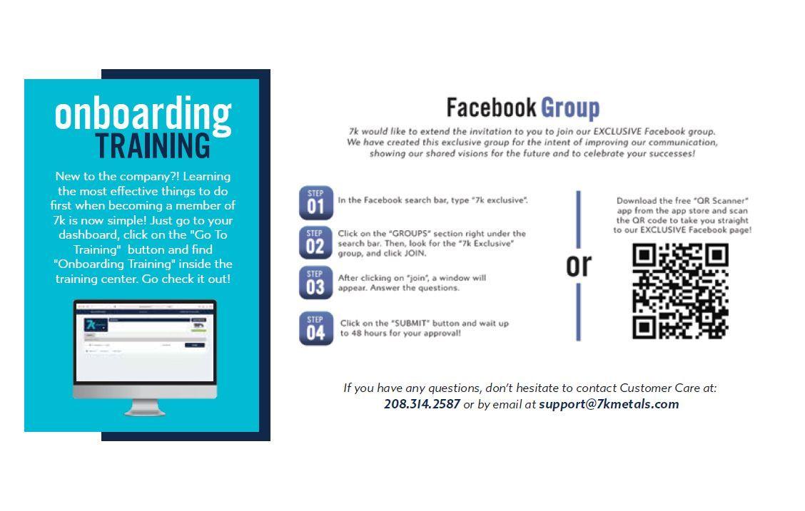 7k exclusive facebook group