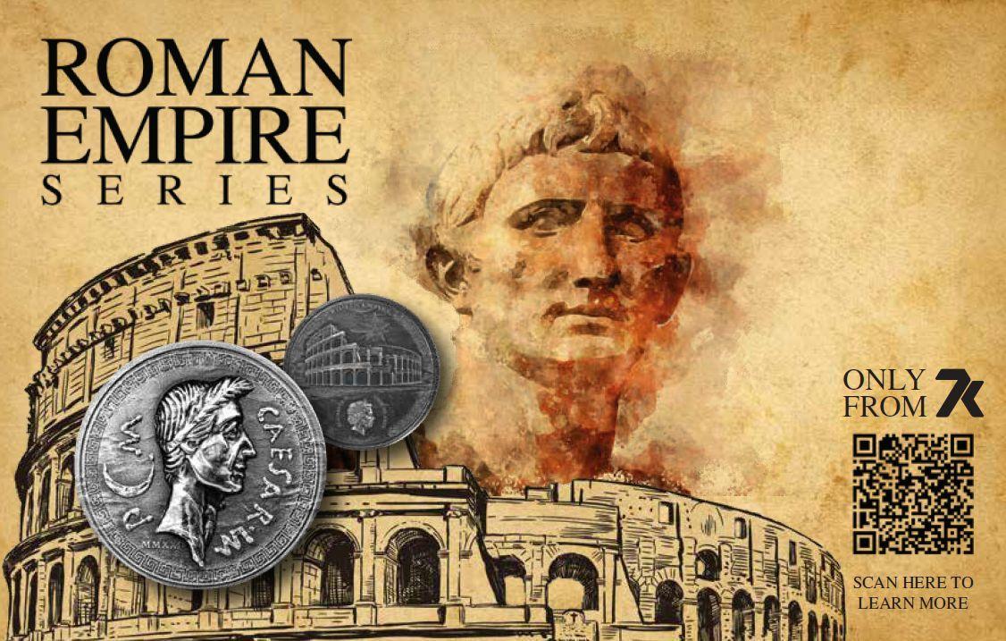 roman empire coin series