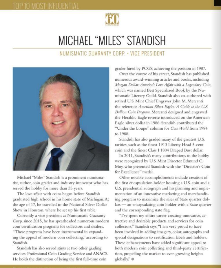 miles standish bio