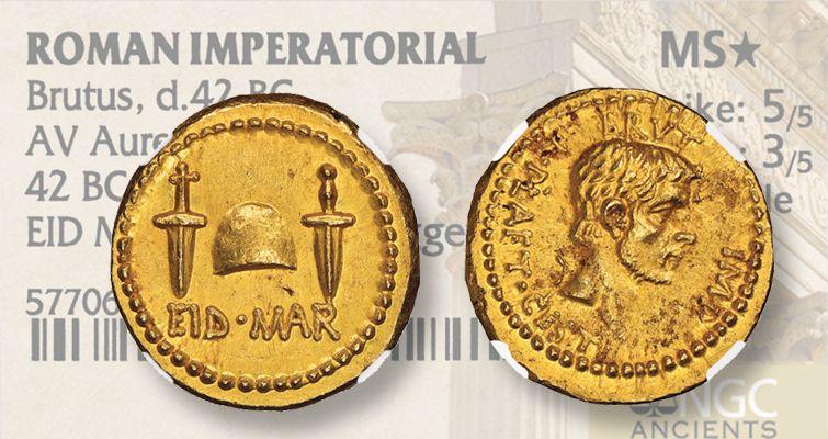 42-b-c-gold-aureus-brutus-coin-lead