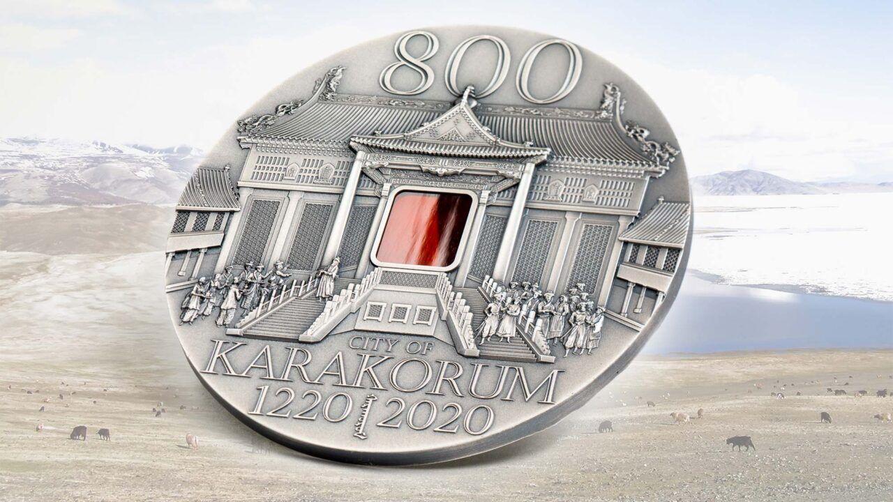 2020 City of Karakorum 800th Anniversary 2oz Silver Coin