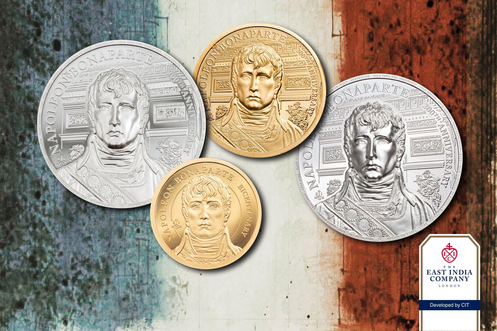 2021 Napoleon 200th Anniversary of Death Coin Series