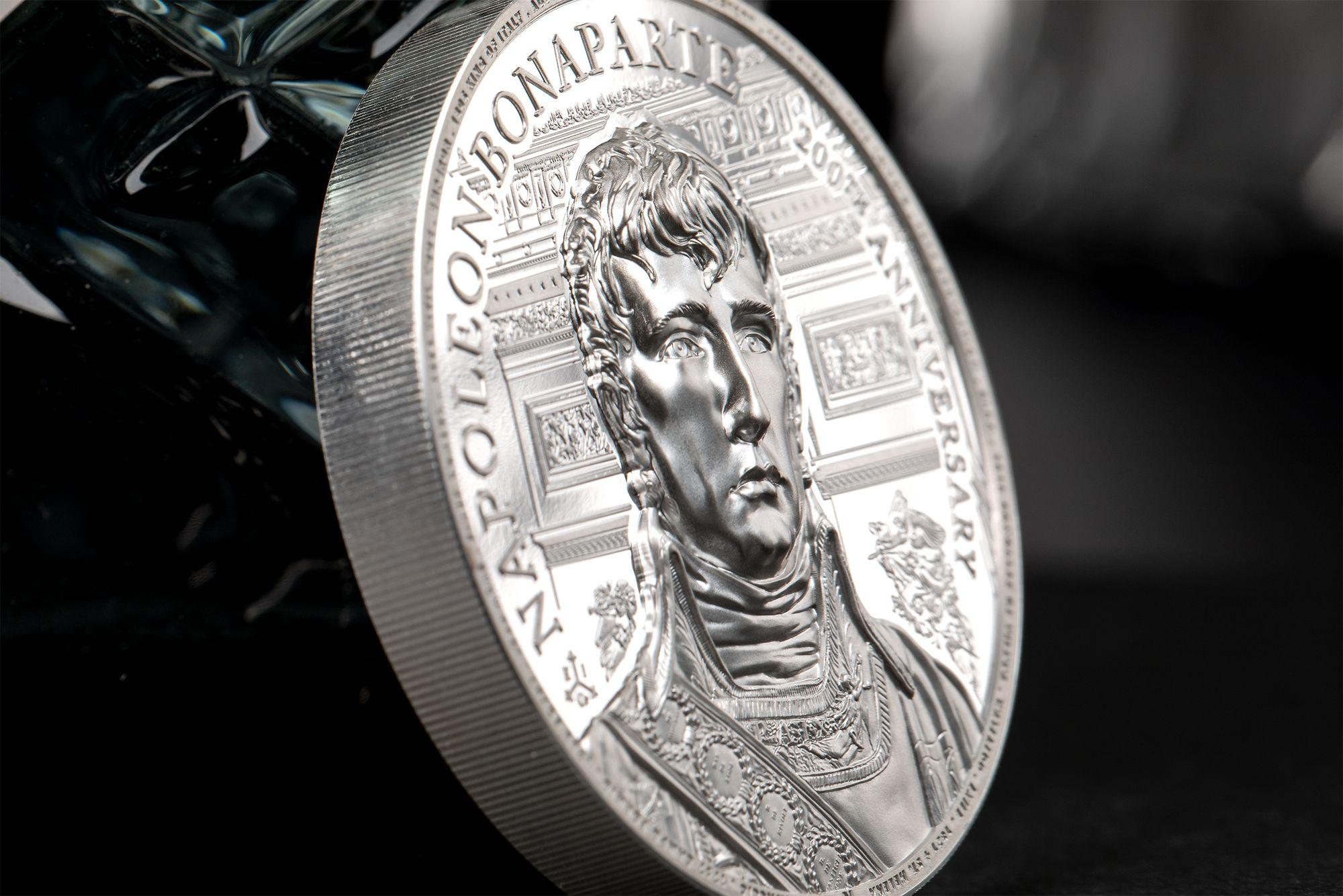 200th Anniversary of Death Napoleon 2oz Silver Coin 2021