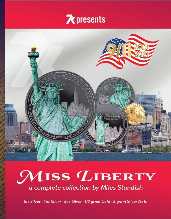 June 2021 7k Metals Vault Report Miss Liberty Coin Series