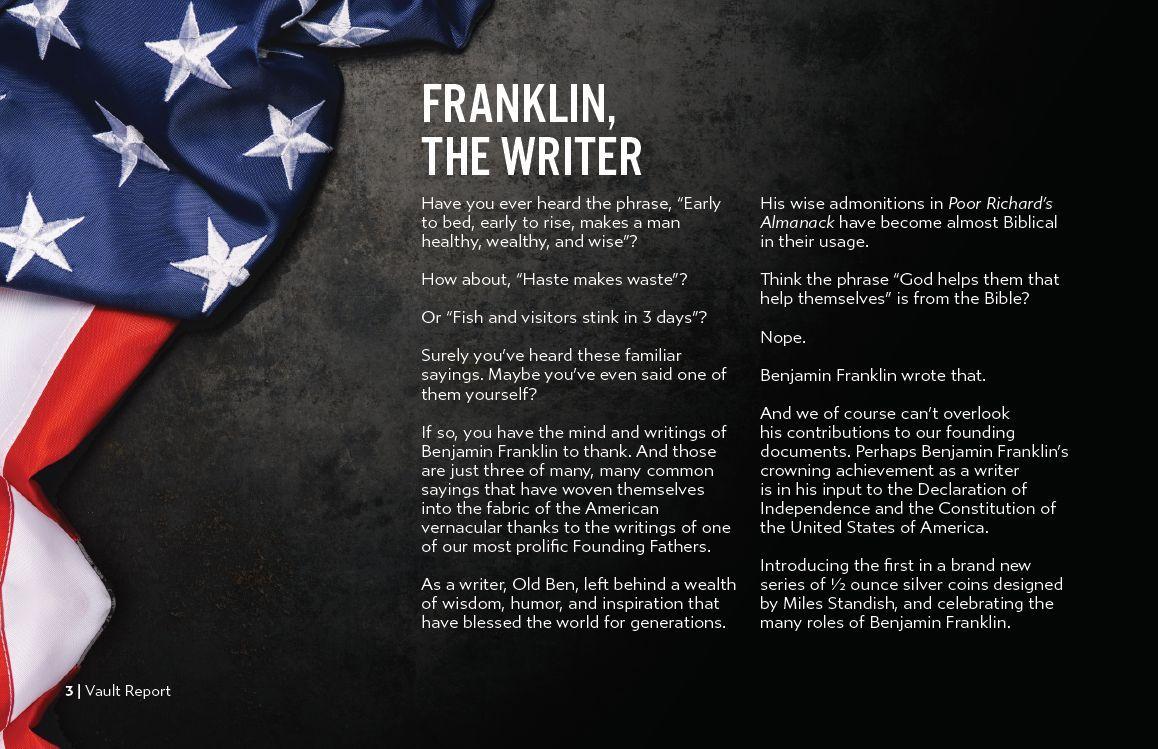 7k 2021July Vault Report Benjamin Franklin