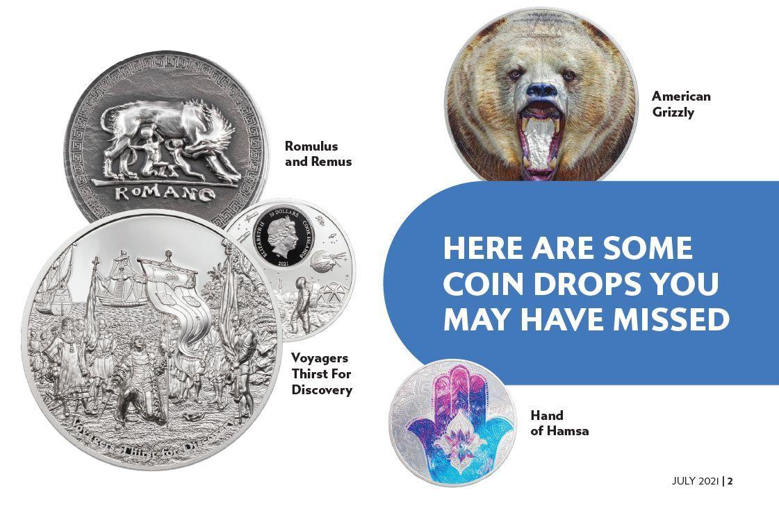 7k 2021July Vault Report Coin Drop Info