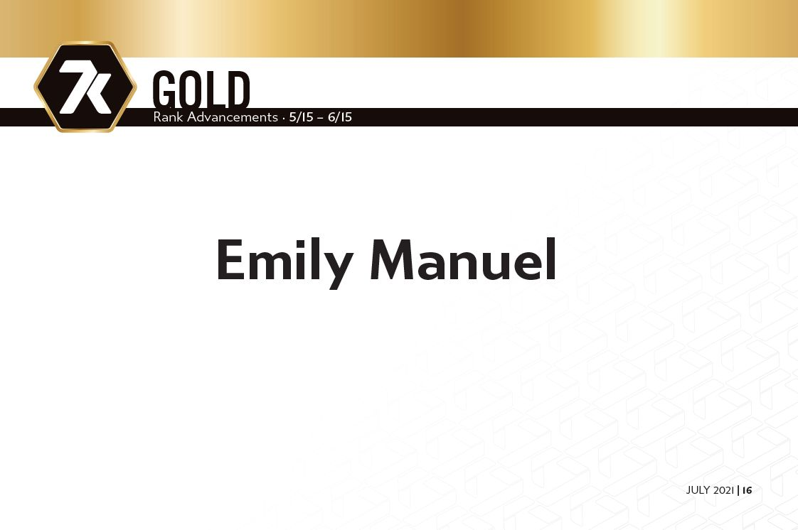 7k July 2021 Vault Report Gold Rankups