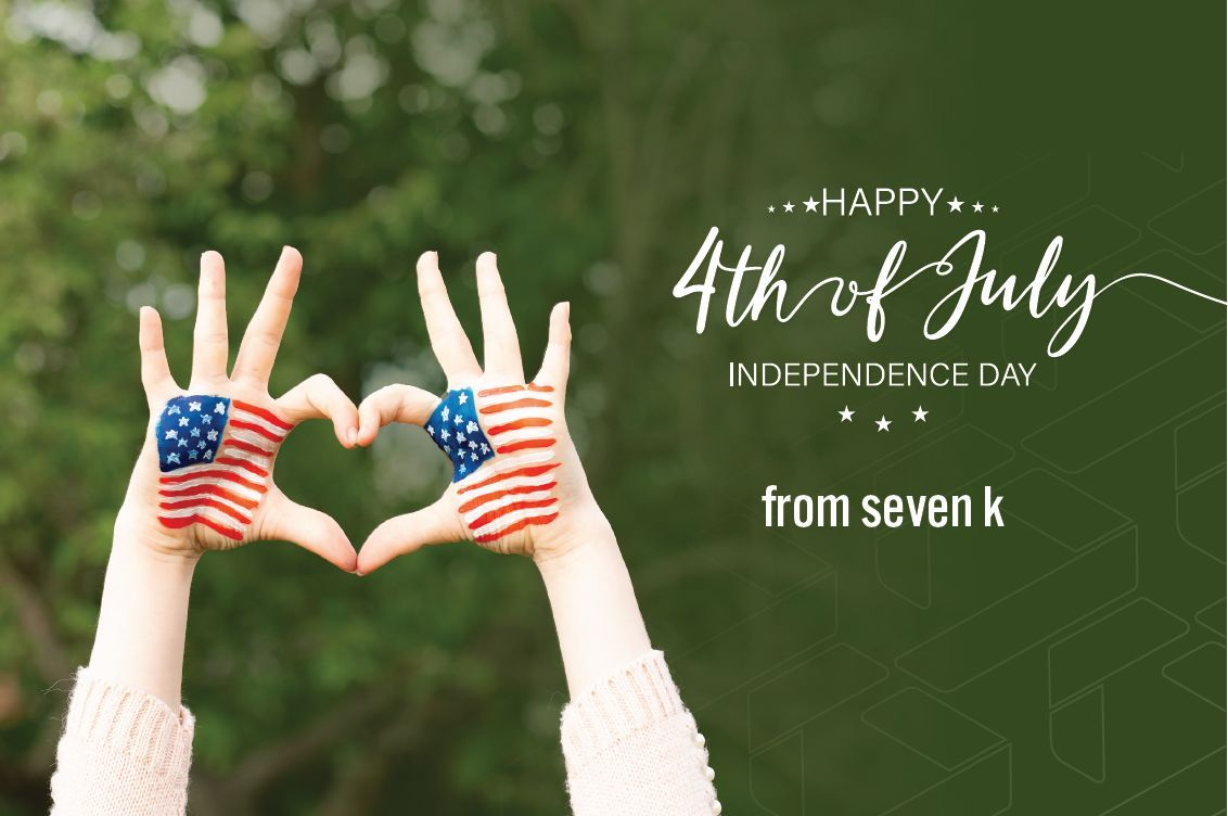 Happy Independence Day from 7k