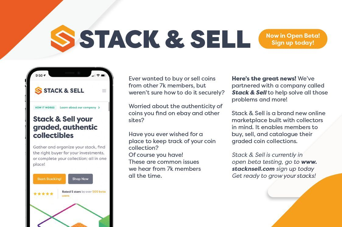 7k July 2021 Vault Report Stack & Sell