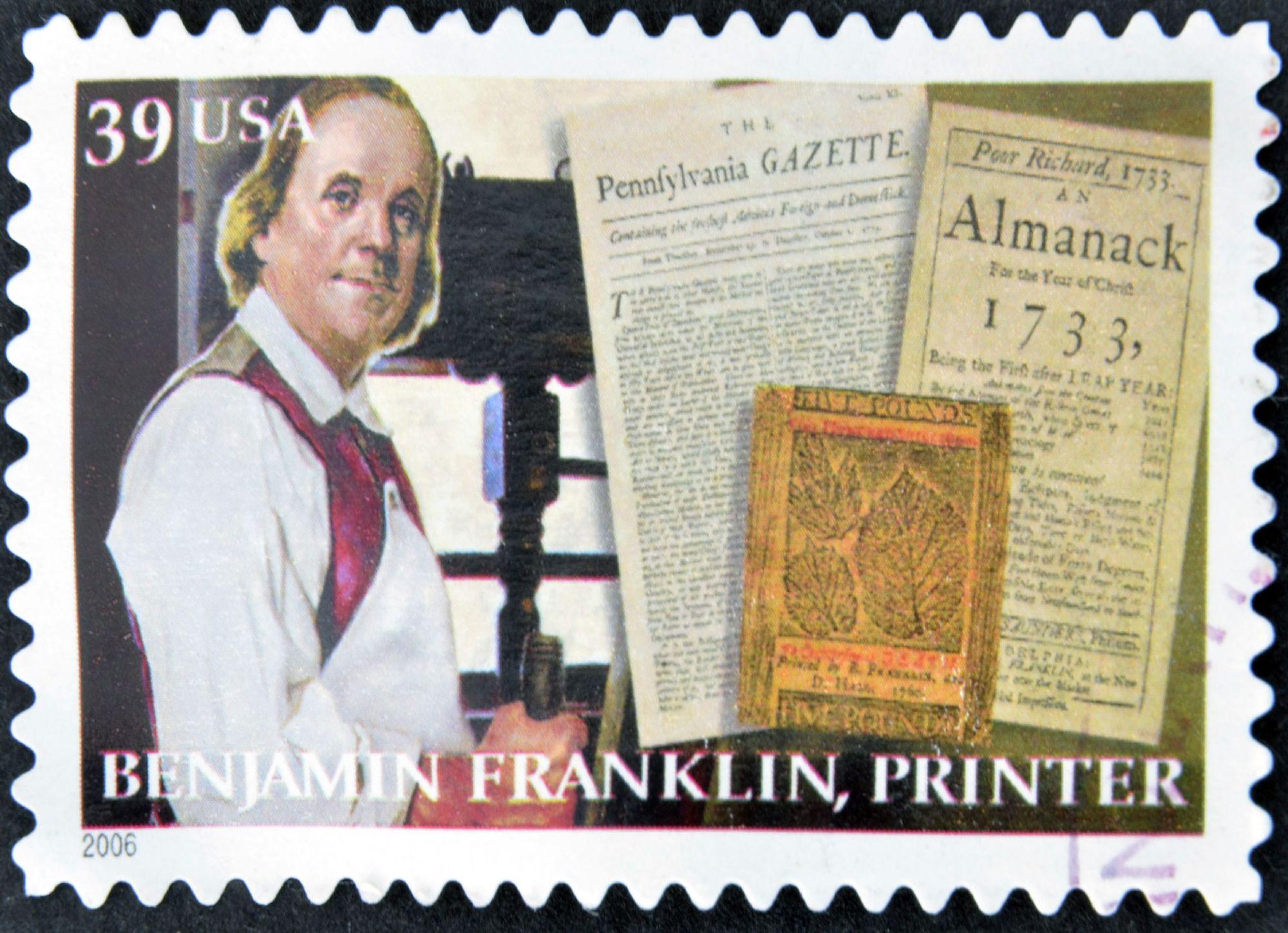 Benjamin Franklin, Printer