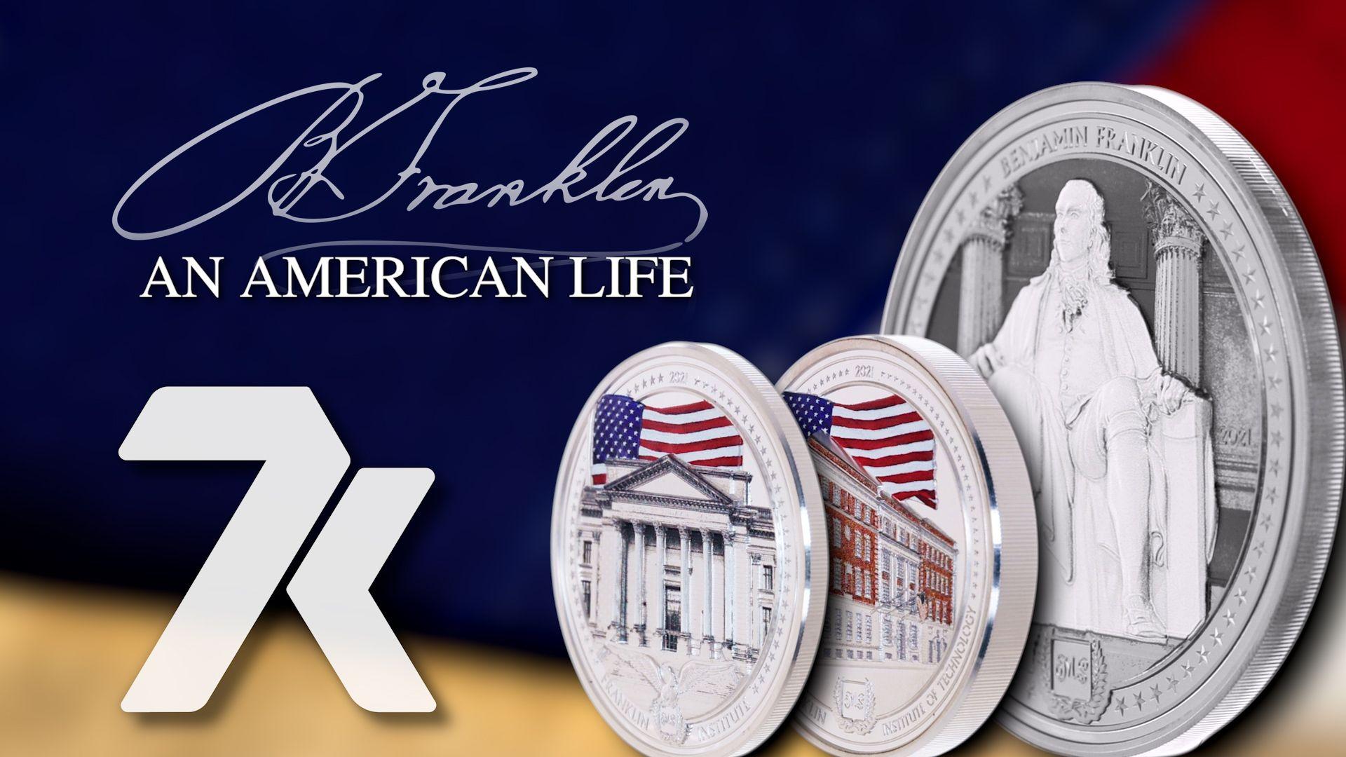 An American Life - Benjamin Franklin Coin Series