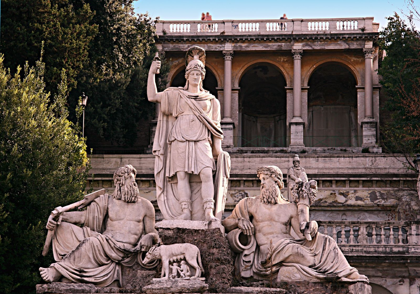 Statue in Piazza Del Popolo, Rome