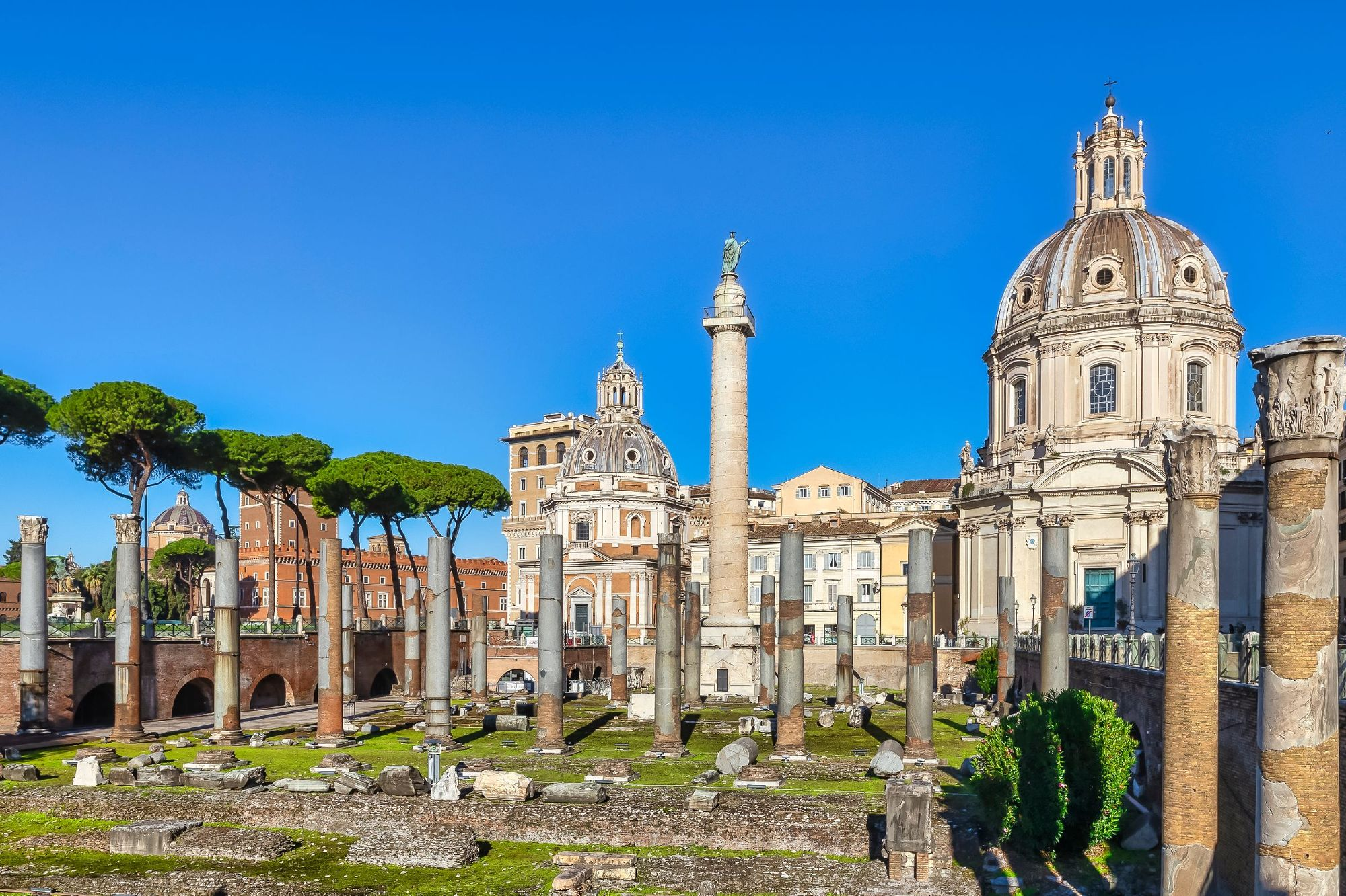 Trajan's Column of Honor and Trajan's Forum
