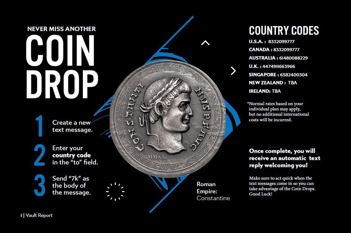 7k Metals Coin Drops