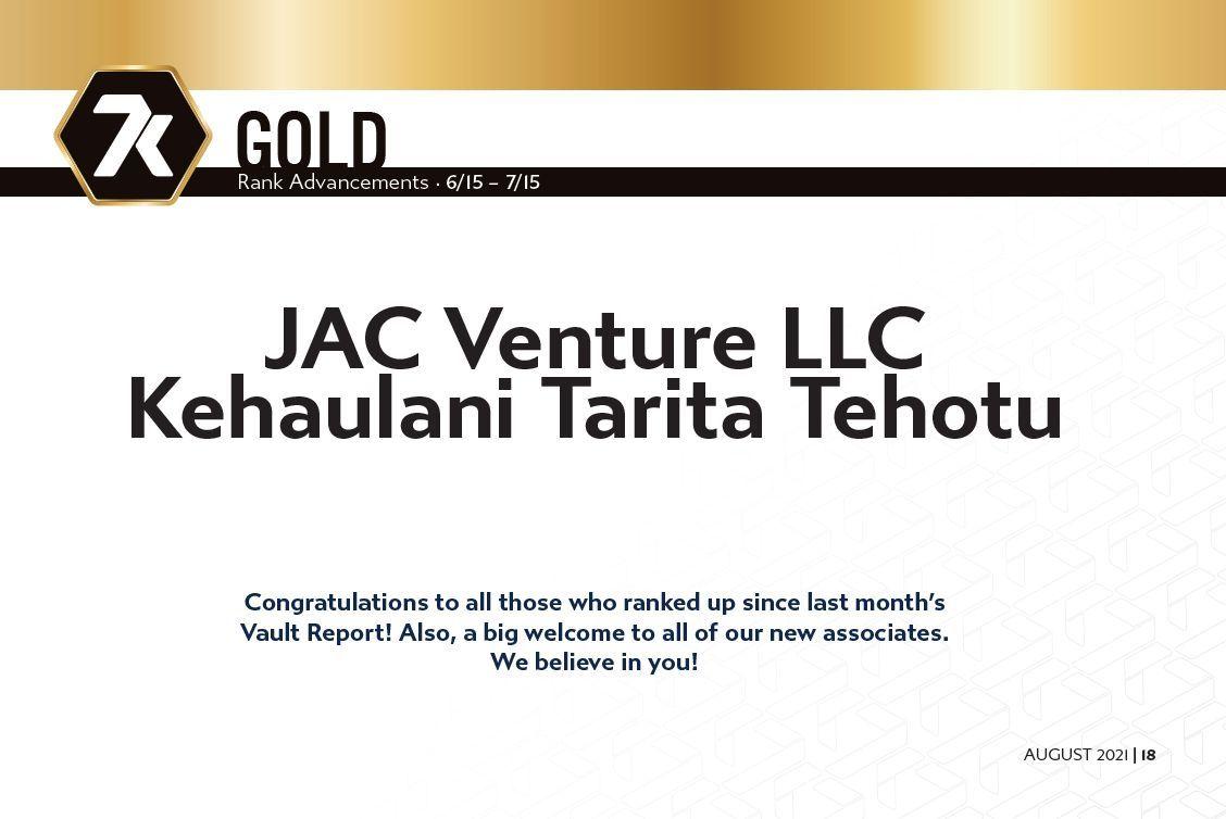 7k Gold Rankups June - July 2021