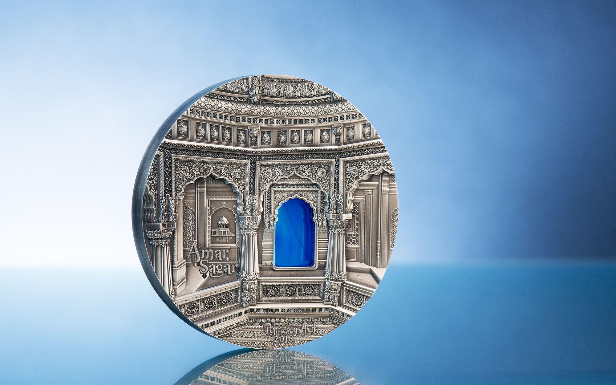 2016 Tiffany Art Amar Sagar 1 Kilo Silver Coin