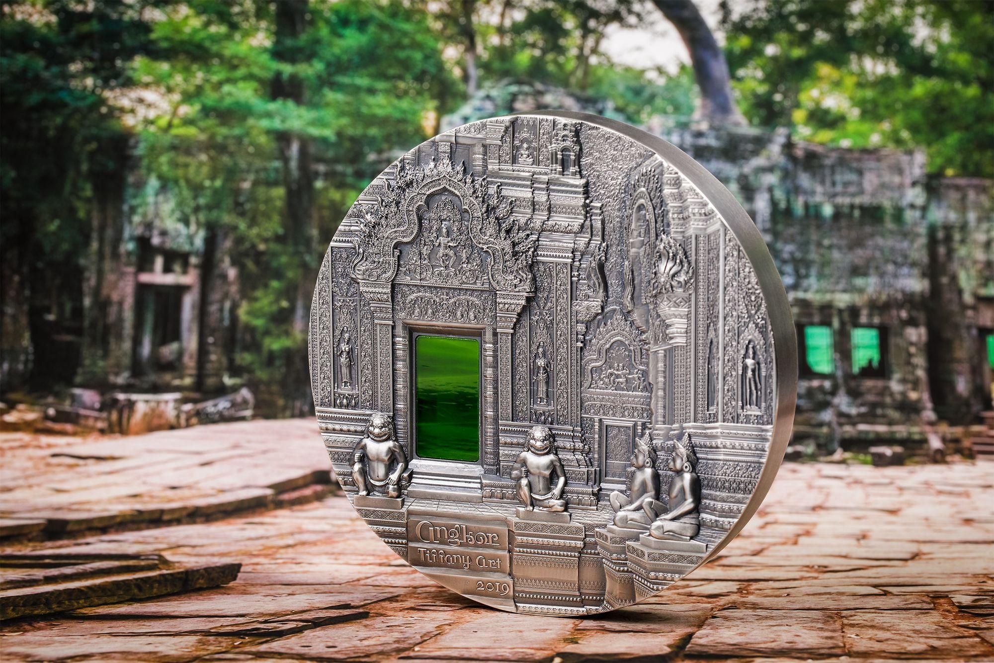 2019 Tiffany Art Angkor 1 Kilo Silver Coin