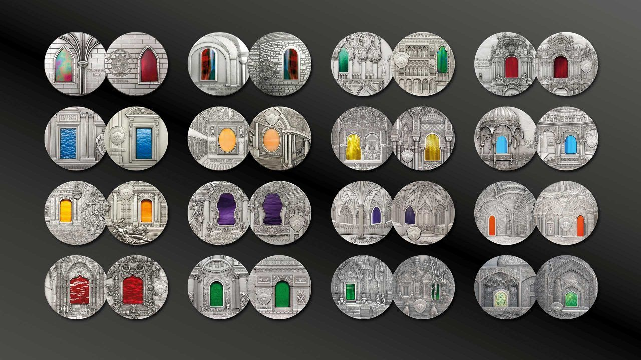 Tiffany Art Coin Series 2004 -2020