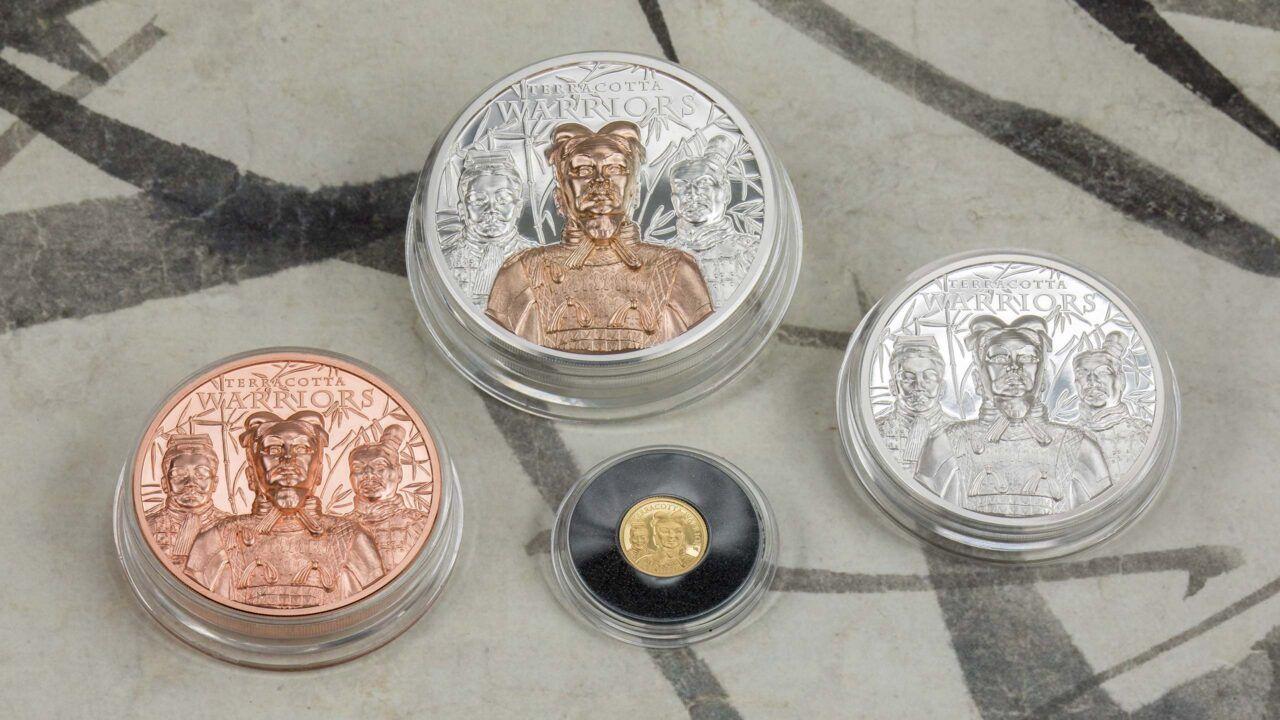 2021 Terracotta Warriors 1/2 gram Gold Coin PF70