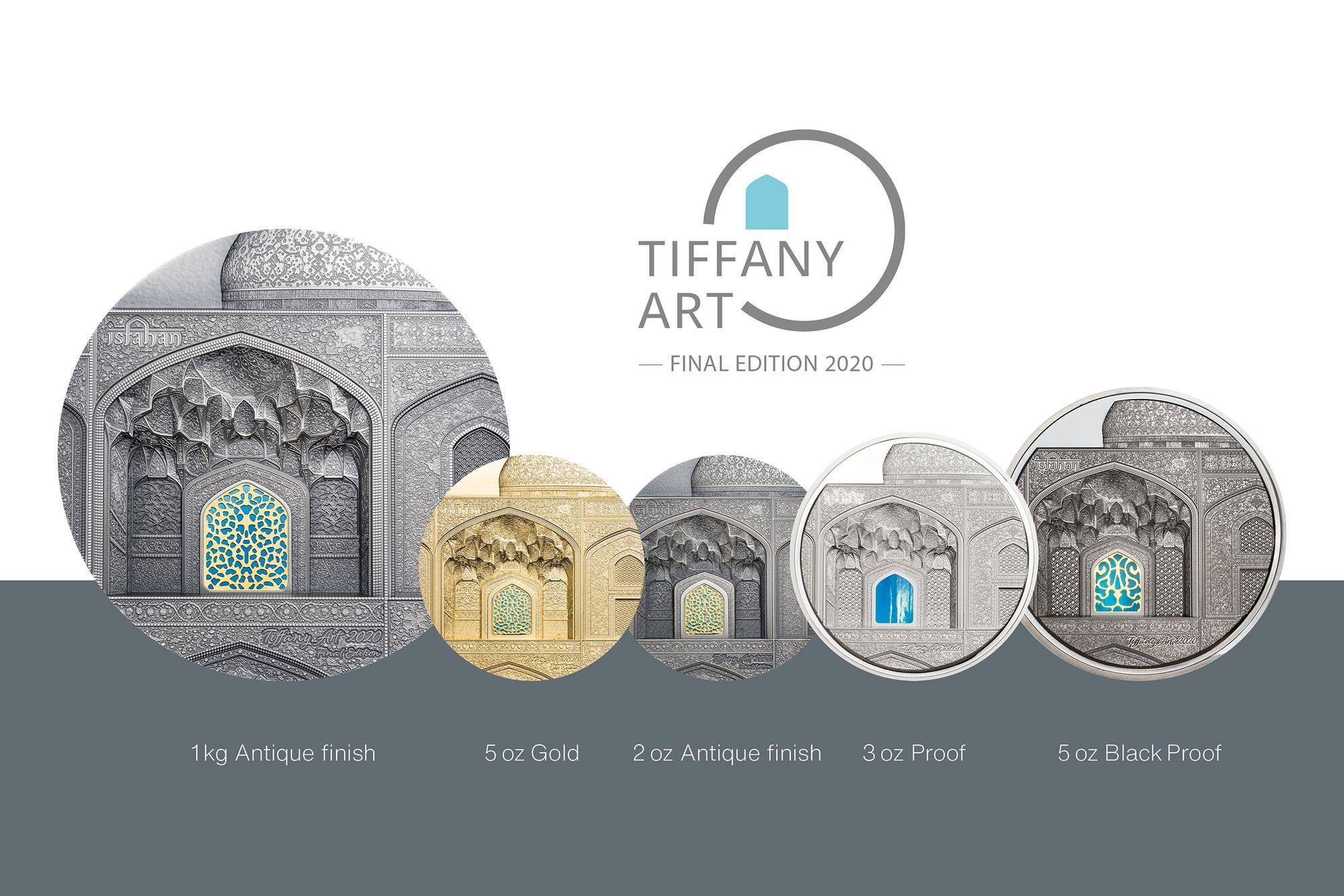 2020 Tiffany Art Coins