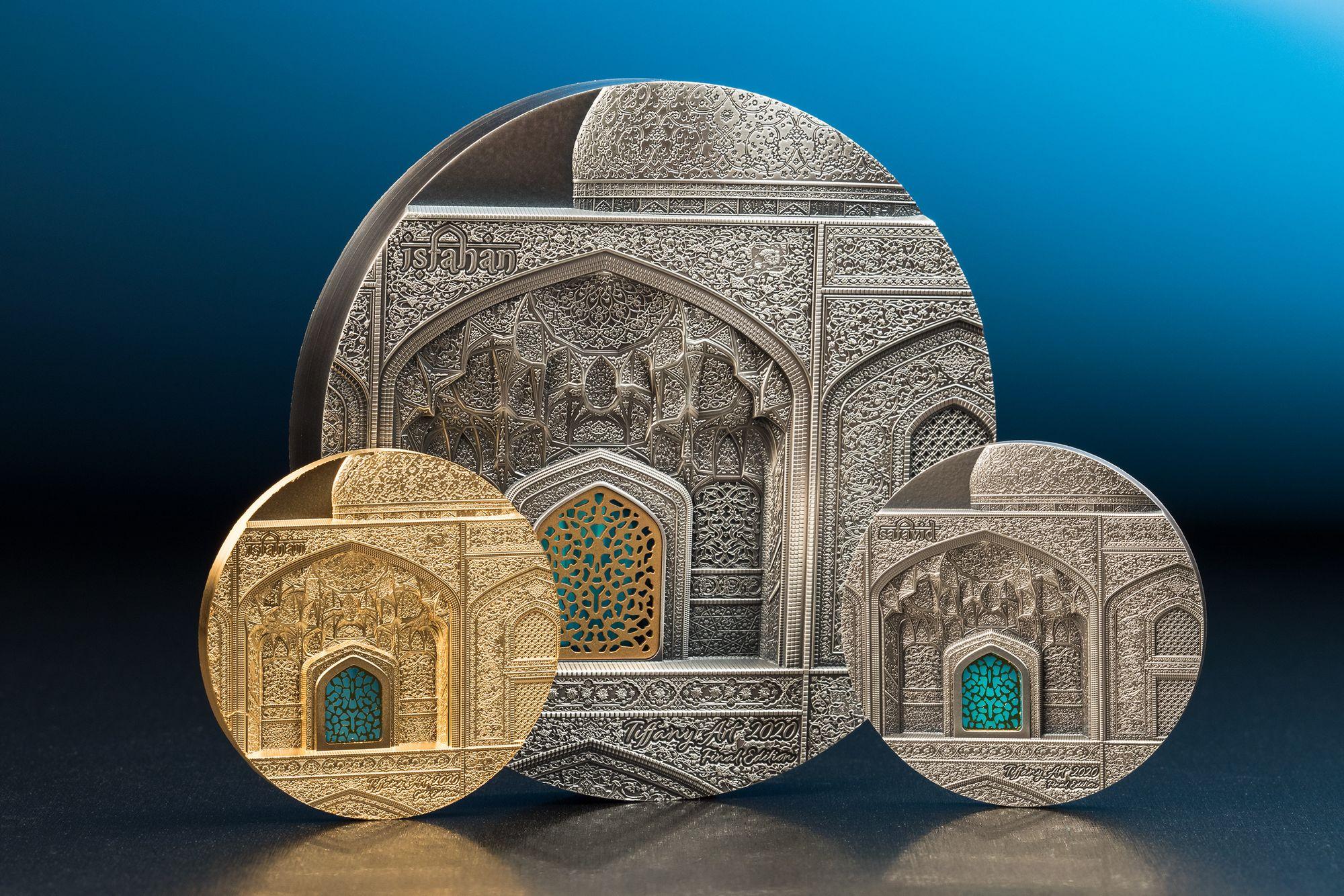 2020 Tiffany Art Safavid 2oz Silver Coin