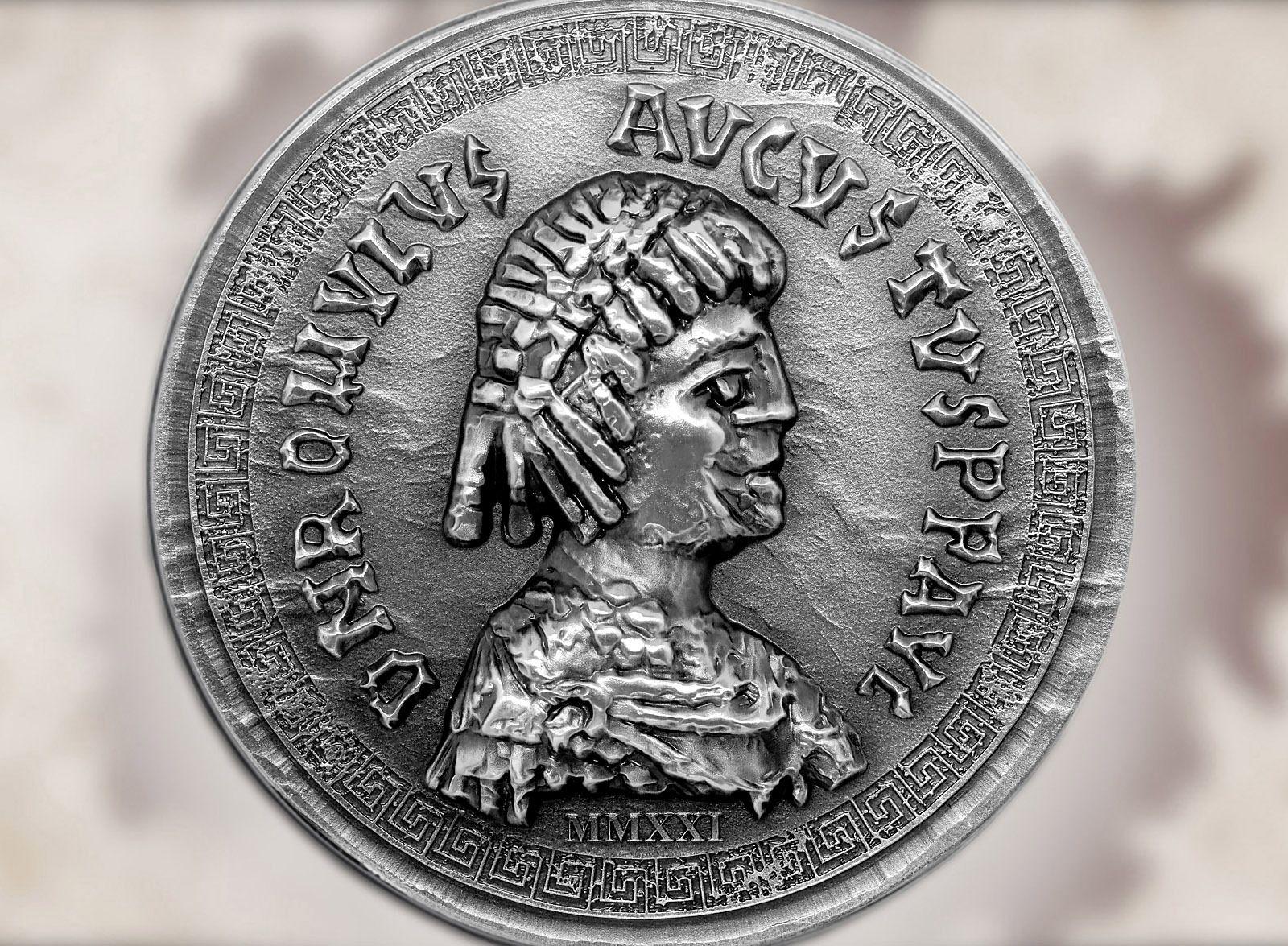 Roman Empire Romulus Augustulus 1oz Silver Coin