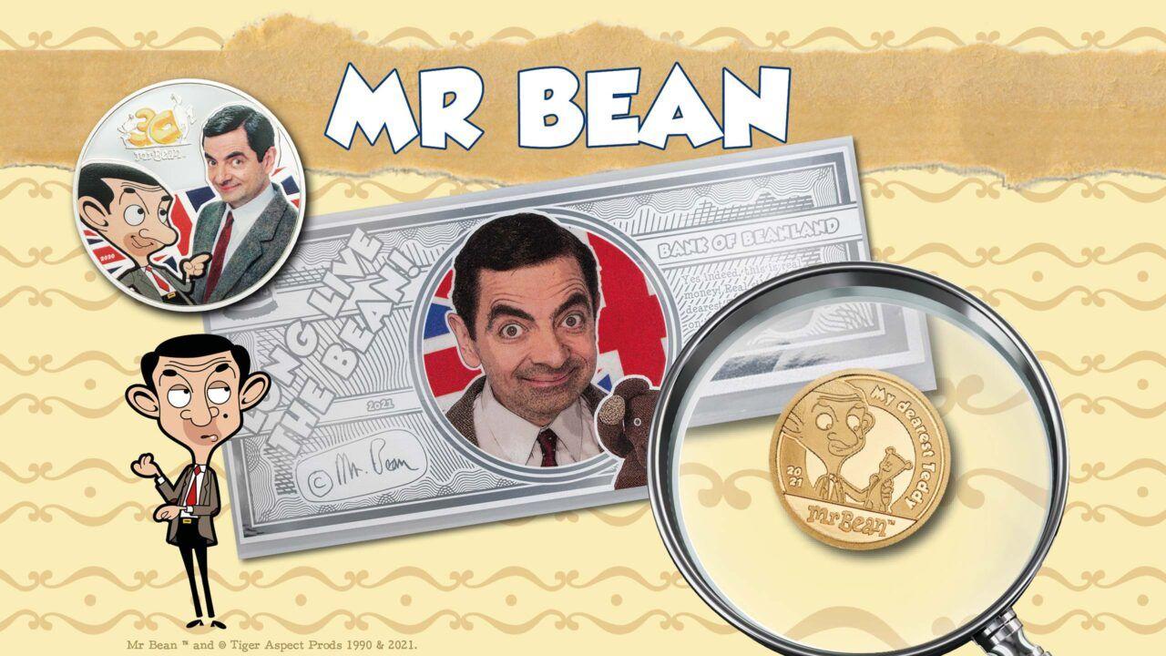 Mr. Bean Coin Collection