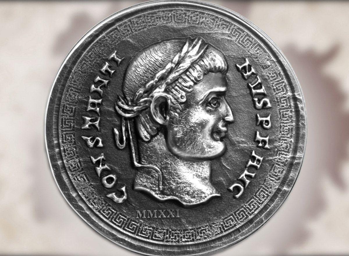 2021 Roman Empire Constantine 1oz Silver Coin
