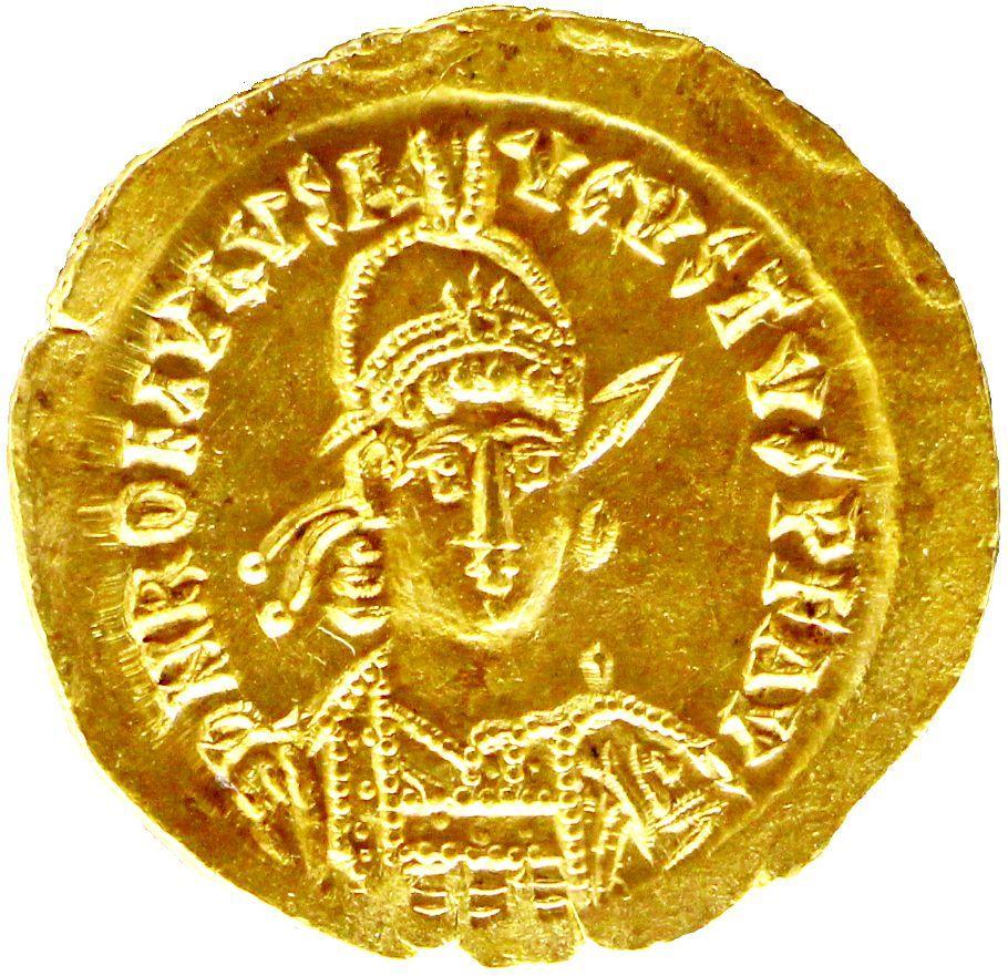 Romulus Augustulus' coin