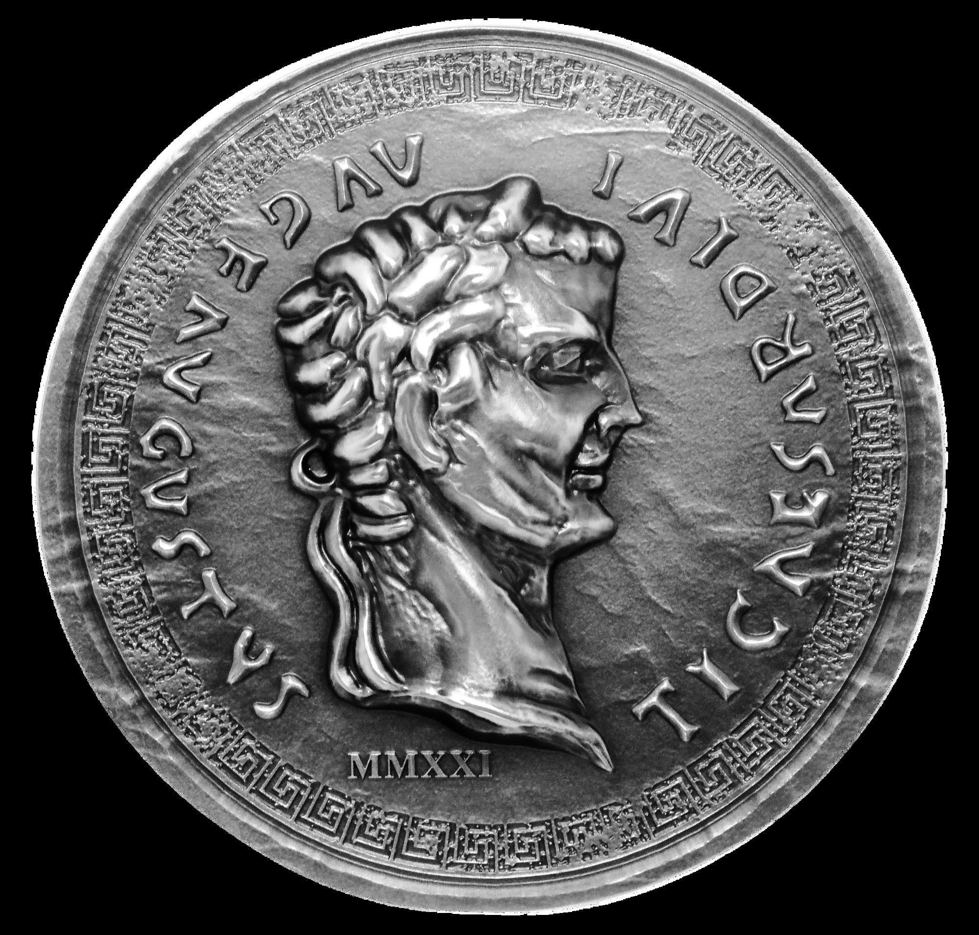 2021 Roman Empire Tiberius 1oz Silver Coin