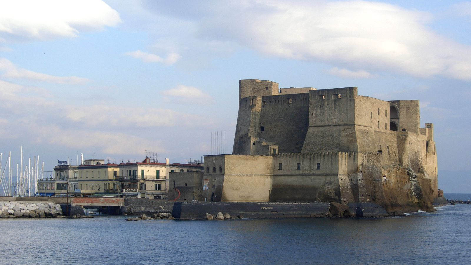 Castle where Romulus Augustulus was exiled after being deposed