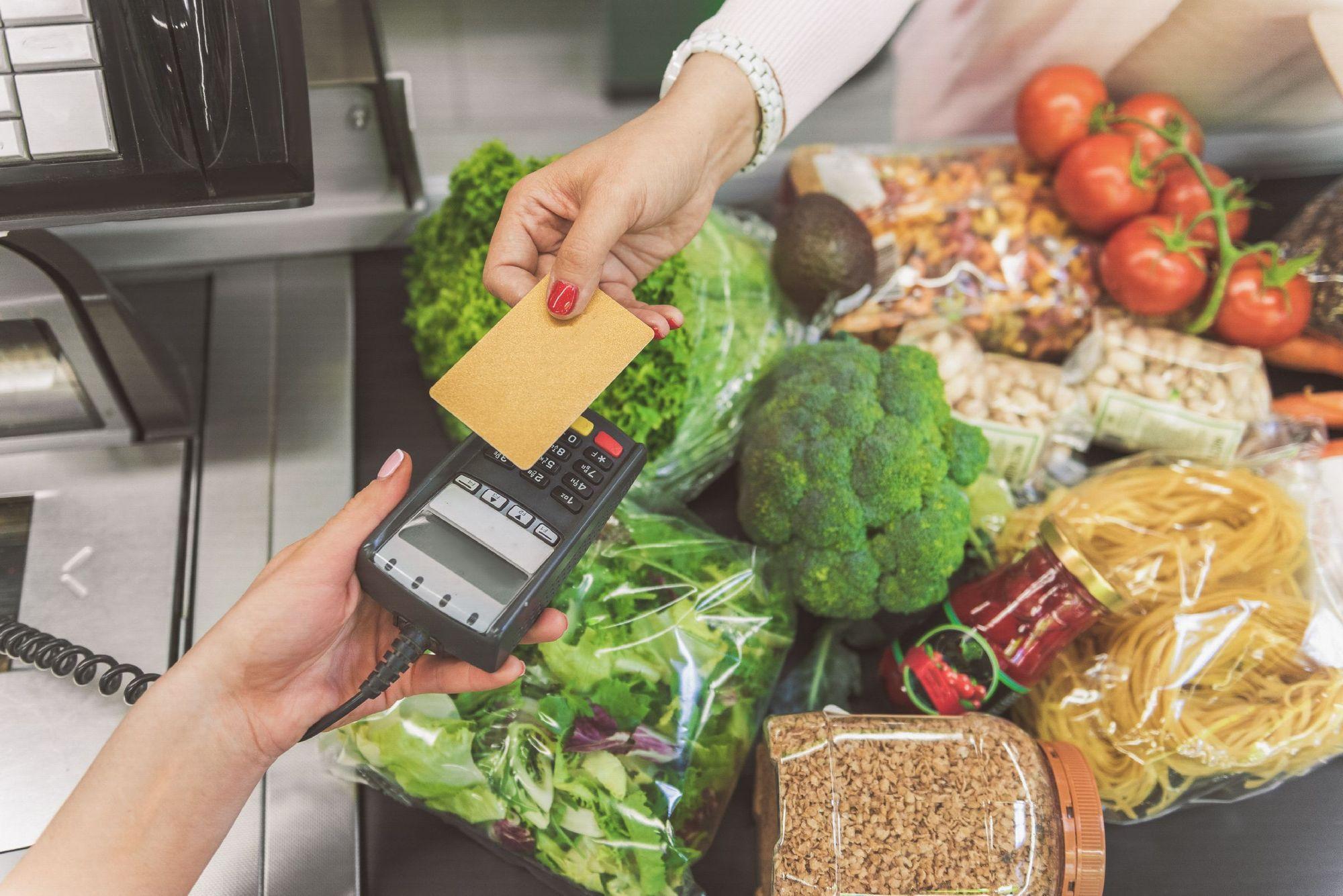 buying necessities on credit