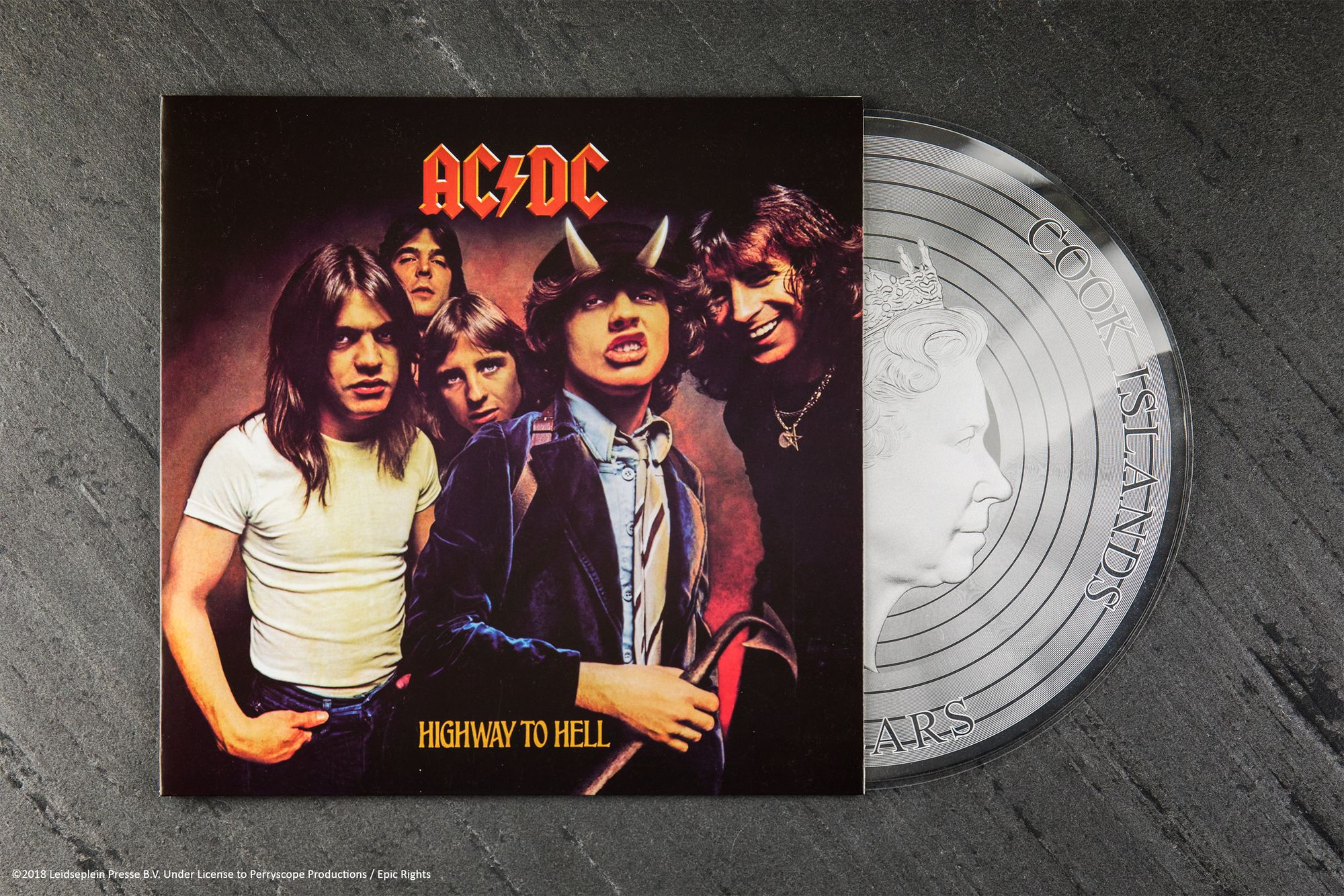 2018 AC/DC Highway to Hell 1/2oz Silver Note