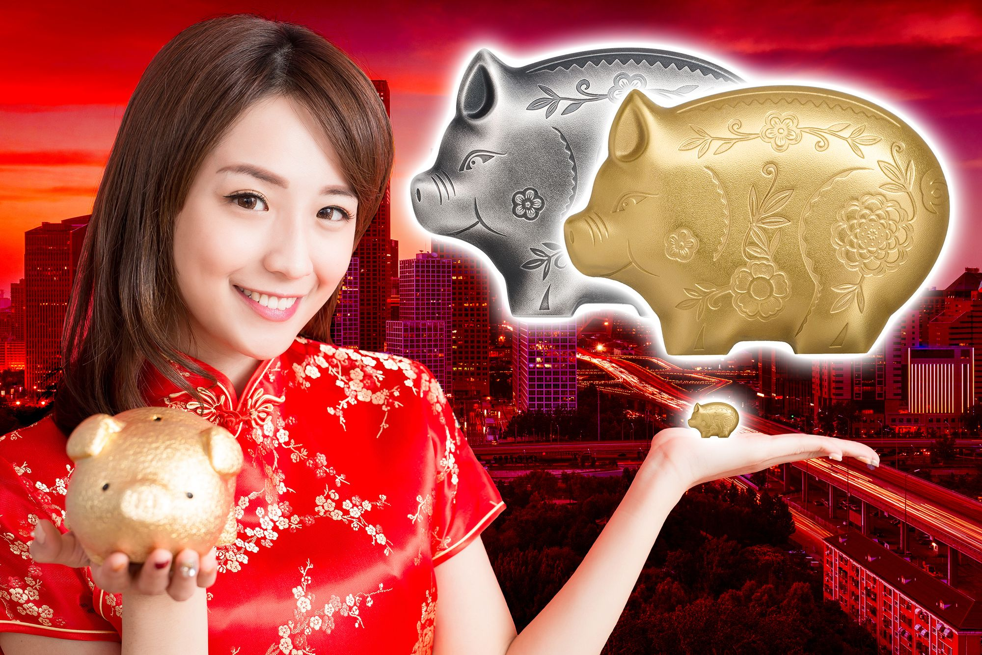 2019 Lunar Year Series Year of the Pig