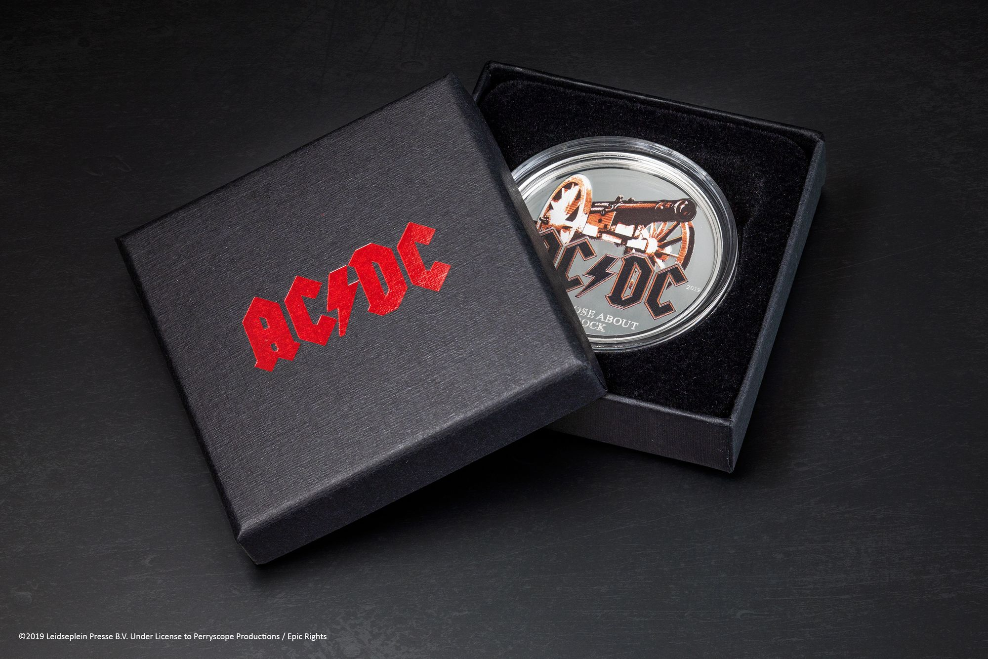 2019 AC/DC For Those About To Rock 1/2 oz Silver Coin
