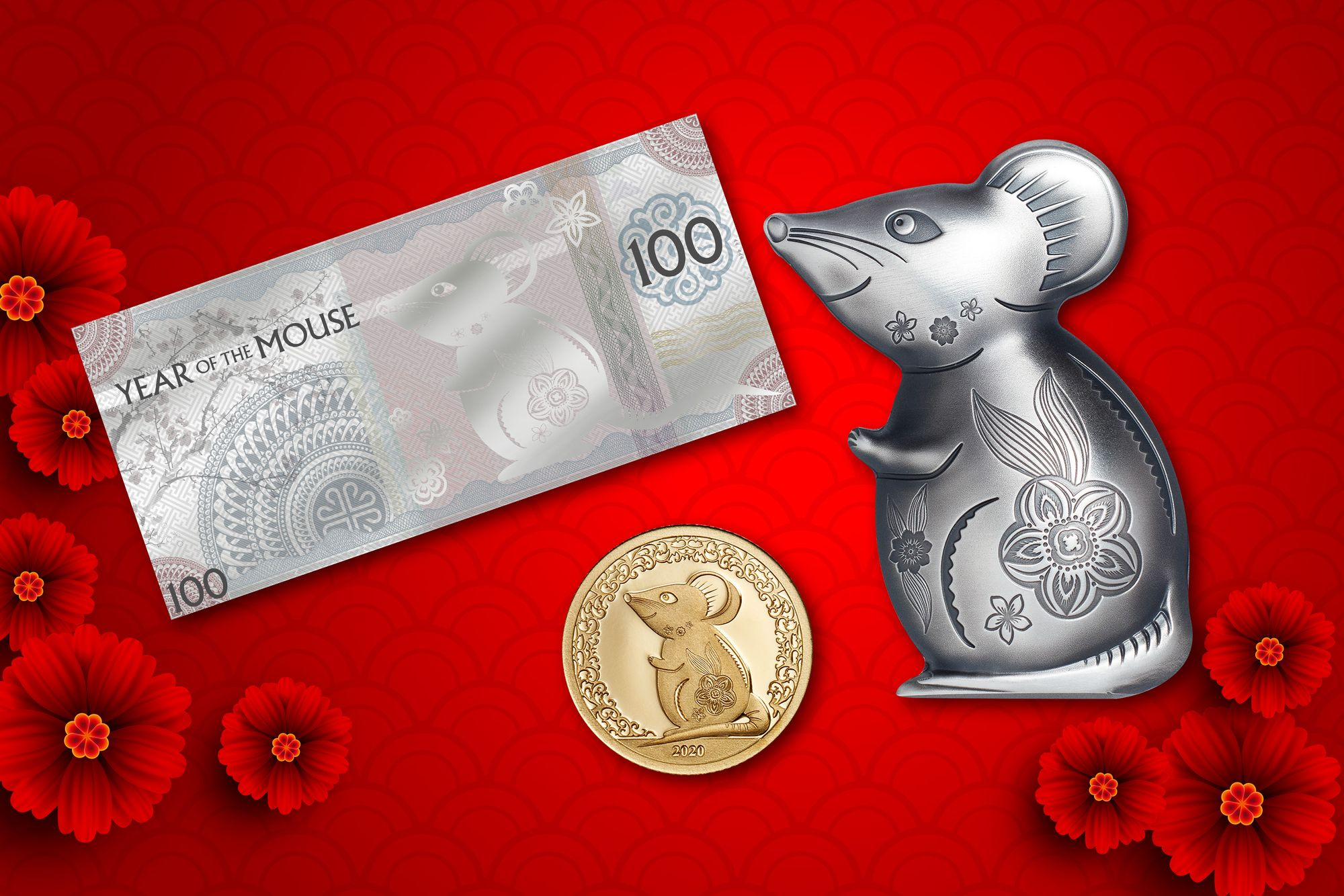 2020 Lunar Year Series Year of the Mouse