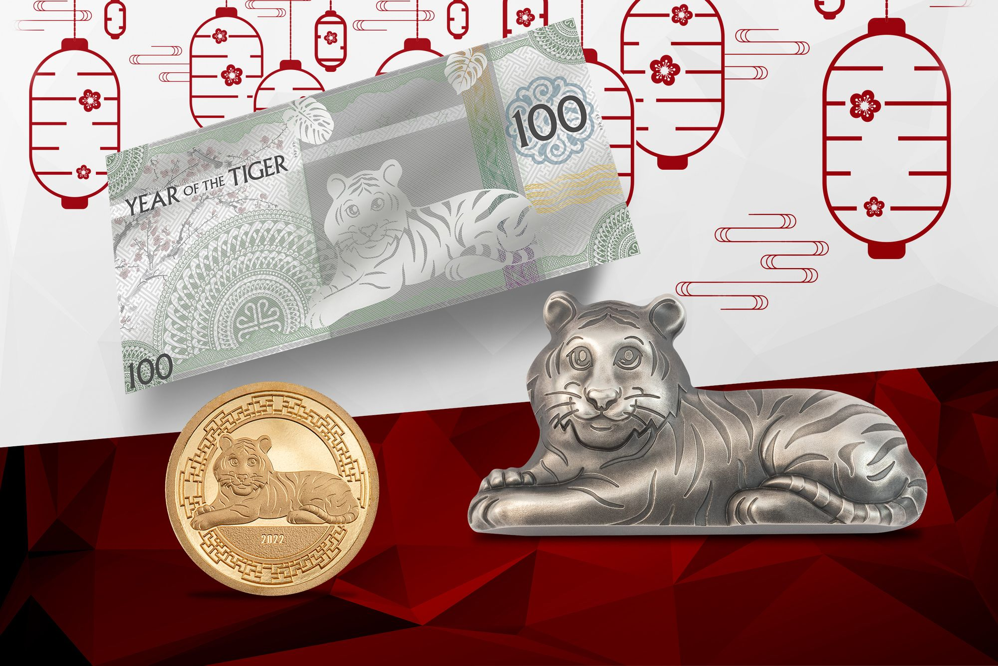 2022 Lunar Year Series Year of the Tiger