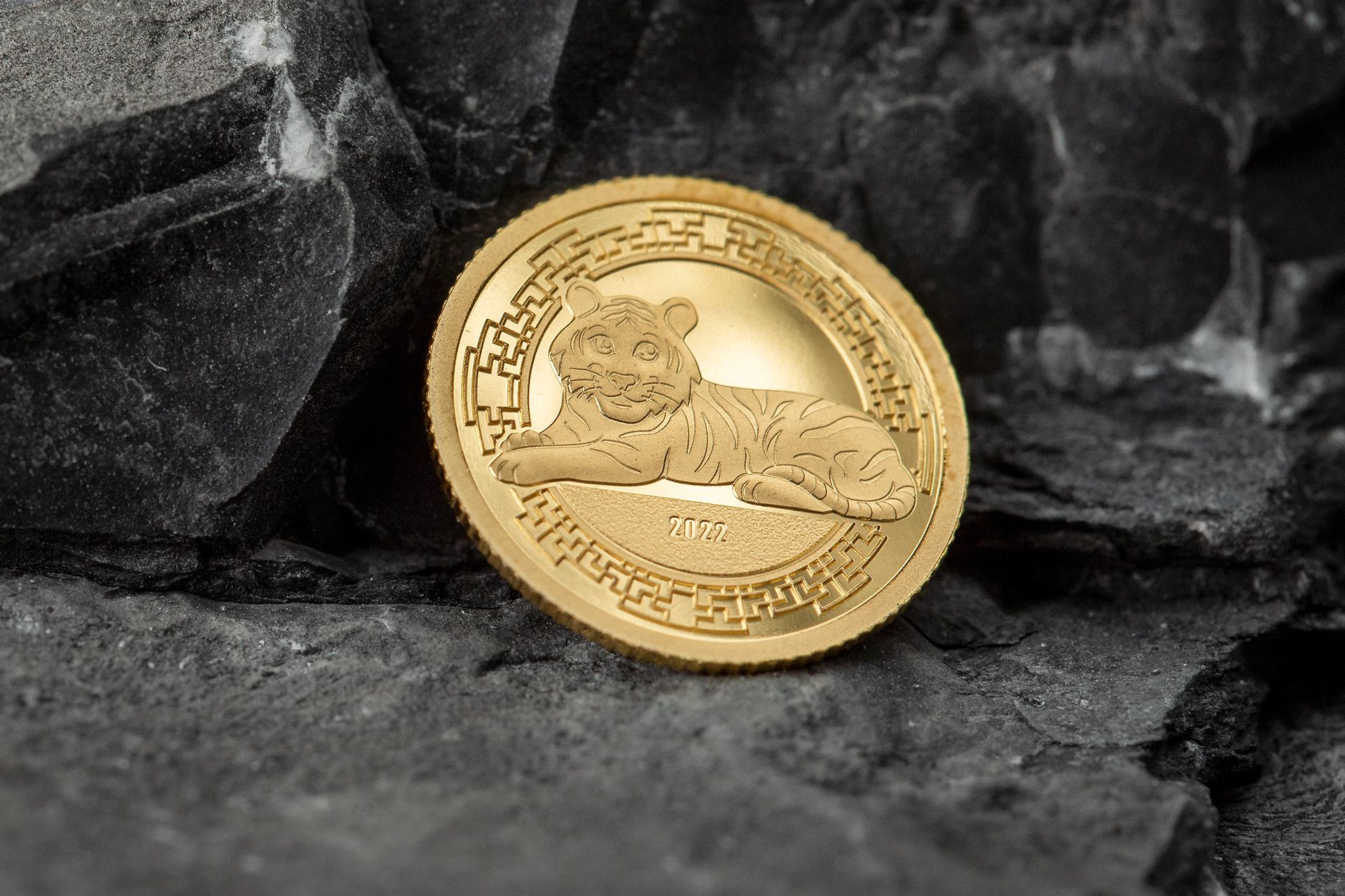 2022 Lunar Year Series Year of the Tiger .5g Gold Coin